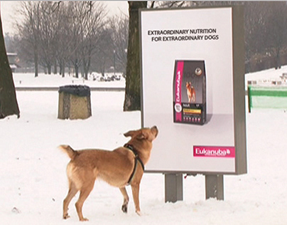 """P&G Eukanuba """"An Ad For Dogs"""", Outdoor/Ambient 2011"""