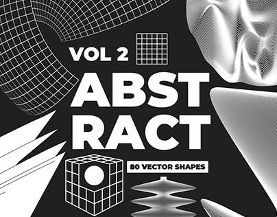 80 Vector Abstract Shapes Vol.2