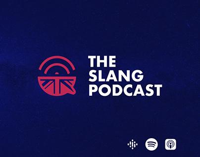 The Slang Podcast - Logo and Social media