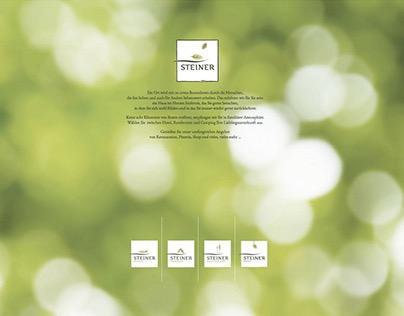 STEINER – Webseite