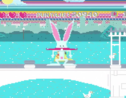 2D Animation # Personal Bunny