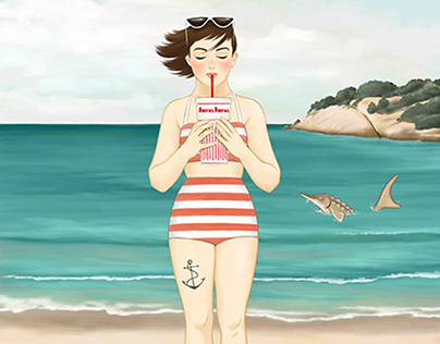Girl Power - Illustrations featuring diverse women