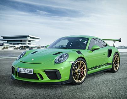 Porsche GT3 RS // CGI - Exterior & Interieur -