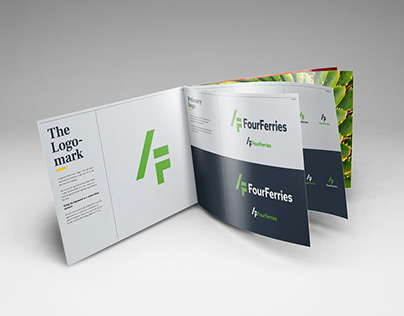 Branding and visual identity for Four Ferries
