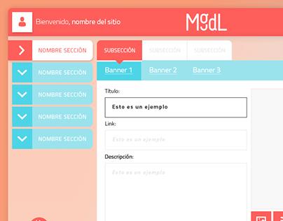 MugDigital - Administrador/mantenedor de contenidos web