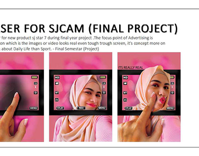 Teaser & Thematic for SJCAM Product