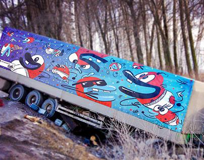 Truck invasion