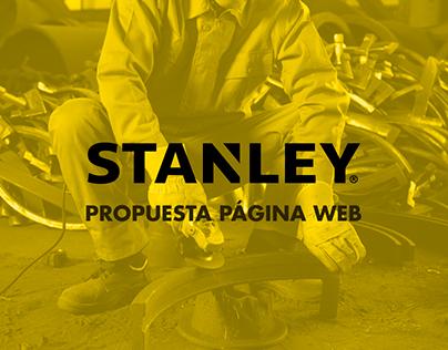 Propuesta Página Web STANLEY