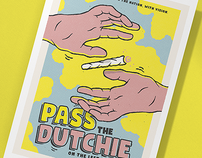 Pass The Dutchie - Poster