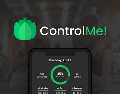 ControlMe: sport and nutrition app