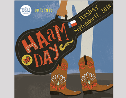 HAAM benefit day posters