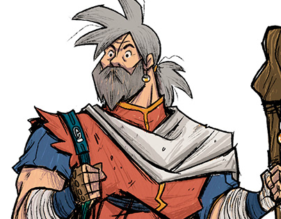 Old Man Goku