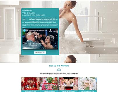 HOÀN THÀNH code web DV cưới THE WEDDING