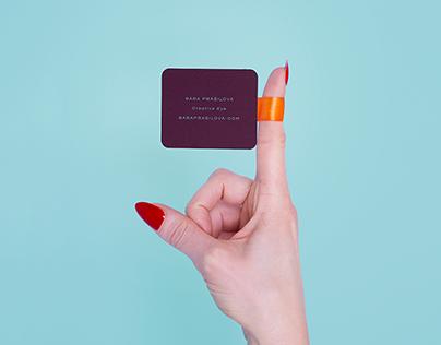 Business Card for Bára Prášilová