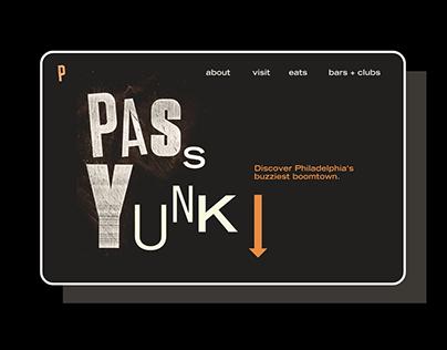 Passyunk Typographic Identity
