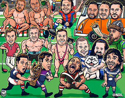 2018 NRL season-opening illustration