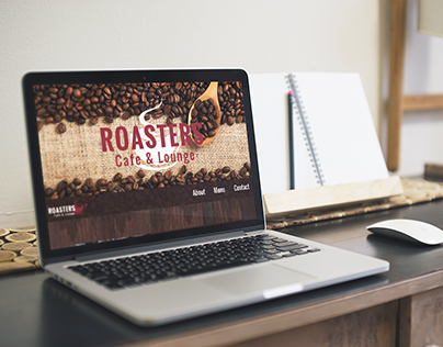 Roasters Cafe & Lounge - Website