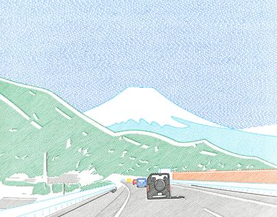 中村隆 個展「トンネルぬけて青い空」(2021) Blue sky through the tunnel