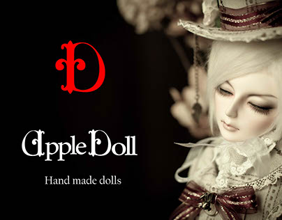 Apple Doll   Logotype & Visuals