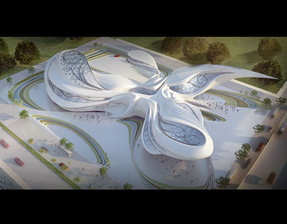 Culture Center 3rd year architecture