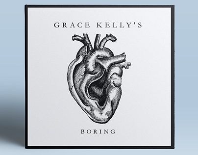 Grace Kelly's. CD-cover + promo sticker+ canvas bag