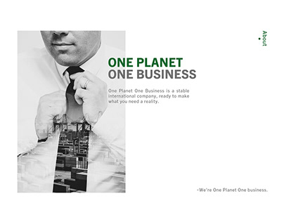 One Planet One Business