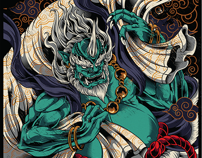 FUJIN | God Of The Wind