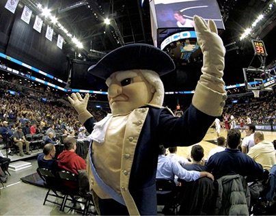 GW Colonials on the March