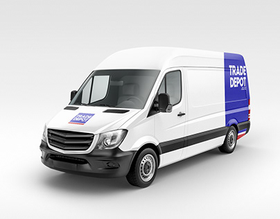 Trade Depot Delivery Truck
