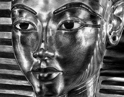 Ilustración de Tutankamon
