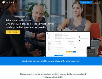 Contrack.io - Sales docs made smart
