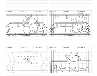 Animatic and storyboard for the kids show