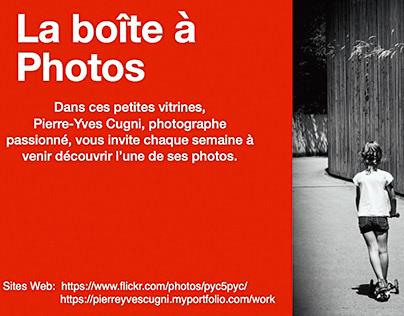 La boîte à Photos (exposition Chambésy, Genève)