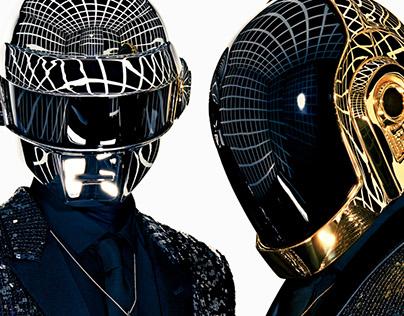 Daft Punk TV Motion graphics