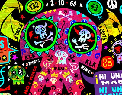 Back panel for KLK