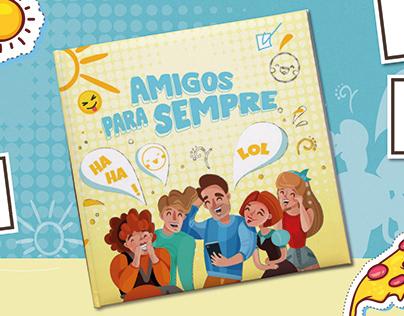 Album personalizado - Amigos para sempre