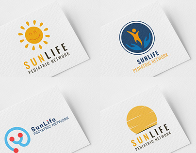 SunLife Pediatric Network - Logo Design