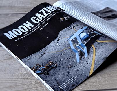 Lunar Illustration for Science Magazine