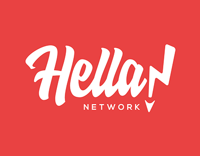 Hella Network: Brand Identity