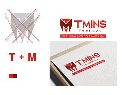 TMINS Computer Logo