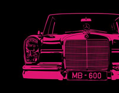 Black series - Mercedes Benz & Aston Martin