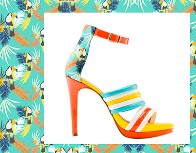 Belice Pattern Collection for Alex André Shoes SS15