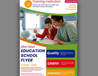 Kids Education Flyer Learn Coding & Robotic