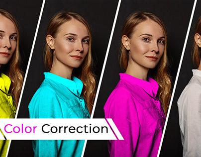 Photo Color Correction/ Color Change