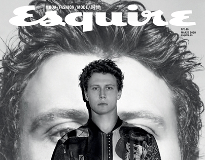 George Mackay - Esquire Spain March 2020
