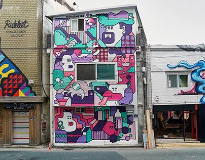 Gyeonggi Museum Dongduchon Graffiti