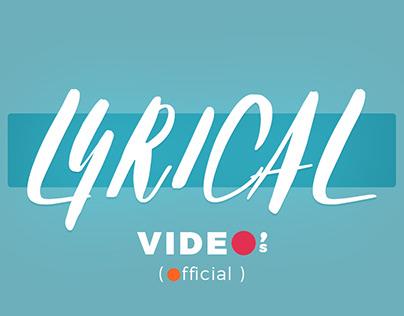 Lyrical Video's - Telugu