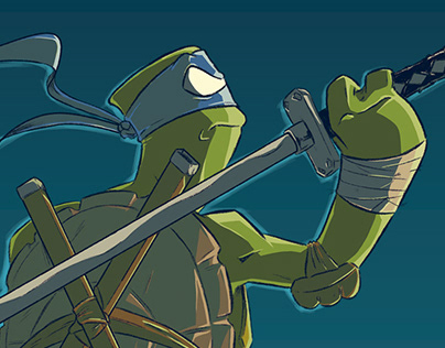 Tartarugas Ninja - FanArt