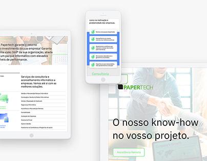 Papertech Website