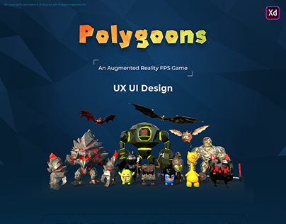 Polygoons Augmented Reality (AR) Game Design